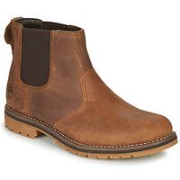 Schuhe Herren Boots Timberland LARCHMONT II CHELSEA Braun,