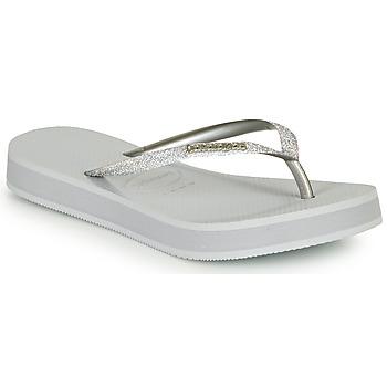 Chaussures Femme Tongs Havaianas SLIM FLATFORM GLITTER