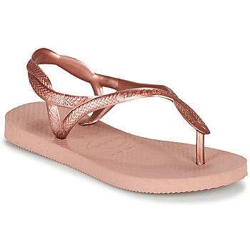 Chaussures Fille Tongs Havaianas LUNA MINI ME
