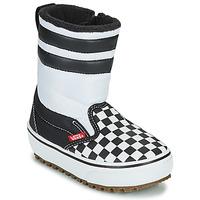 Schuhe Kinder Schneestiefel Vans YT SLIP-ON SNOW BOOT MTE Weiß