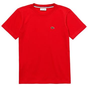 Abbigliamento Bambino T-shirt maniche corte Lacoste TJ1442-F8M-J