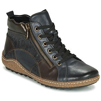 Chaussures Femme Baskets montantes Remonte Dorndorf R4790-14 Bleu