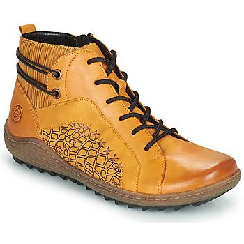 Chaussures Femme Baskets montantes Remonte Dorndorf R1499-68 Jaune