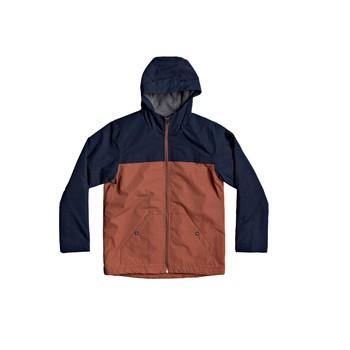 Kleidung Jungen Jacken Quiksilver WAITING PERIOD Marineblau / Braun,