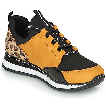 Schuhe Damen Sneaker Low Rieker N3083-68