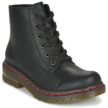 Schuhe Damen Boots Rieker 76240-00