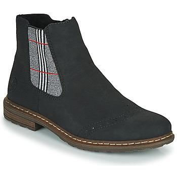 Schuhe Damen Boots Rieker 71072-02 Bunt