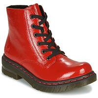 Schuhe Damen Boots Rieker 76240-33