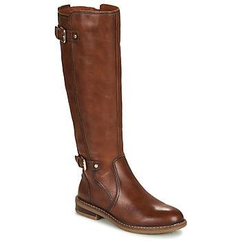 Chaussures Femme Bottes ville Pikolinos ALDAYA W8J Marron