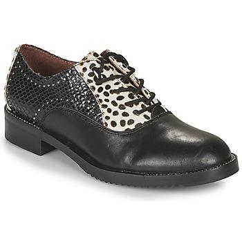 Chaussures Femme Derbies Café Noir JEREL