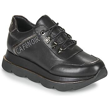 Chaussures Femme Baskets basses Café Noir JIZELE