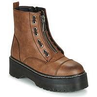 Chaussures Femme Boots Emmshu AVRIL Cognac