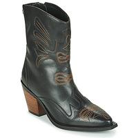 Schuhe Damen Low Boots Gioseppo SERAING Braun,