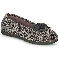Schuhe Damen Hausschuhe Isotoner 97261 Braun,