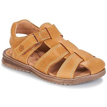 Schuhe Jungen Sandalen / Sandaletten Citrouille et Compagnie MELTOUNE Kamel