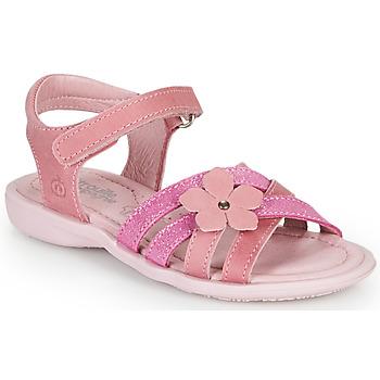 Schuhe Mädchen Sandalen / Sandaletten Citrouille et Compagnie BELDAF Fuchsienrot