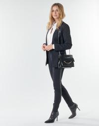 Abbigliamento Donna Pantaloni 5 tasche Karl Lagerfeld PUNTO PANTS W/ LOGO TAPE