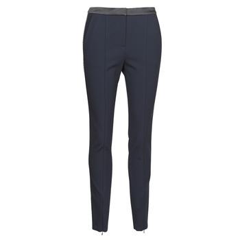Vêtements Femme Pantalons 5 poches Karl Lagerfeld PUNTO PANTS W/ LOGO TAPE