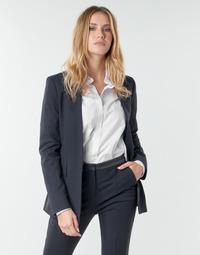 Abbigliamento Donna Giacche / Blazer Karl Lagerfeld PUNTO JACKET W/ SATIN LAPEL