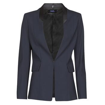 Kleidung Damen Jacken / Blazers Karl Lagerfeld PUNTO JACKET W/ SATIN LAPEL