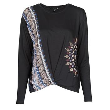 Abbigliamento Donna T-shirts a maniche lunghe Desigual MARSELLA