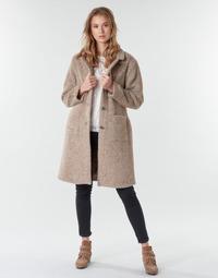 Abbigliamento Donna Cappotti Cream AMELIA COAT