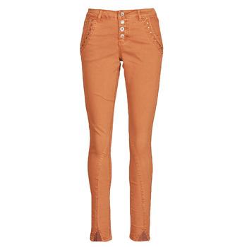 Kleidung Damen 5-Pocket-Hosen Cream HOLLY CR TWILL Braun,