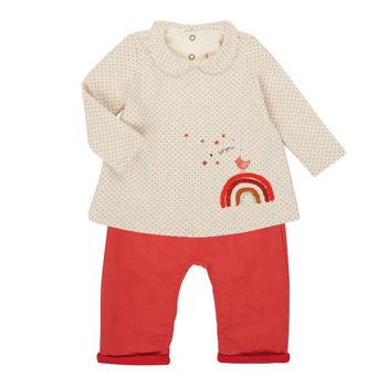 Kleidung Mädchen Kleider & Outfits Catimini CR36031-60 Bunt