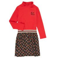Kleidung Mädchen Kurze Kleider Catimini CR30035-38-C Bunt