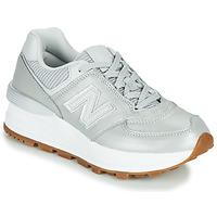 Schuhe Damen Sneaker Low New Balance 574 Grau