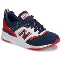 Schuhe Jungen Sneaker Low New Balance 997 Blau / Weiß / Rot