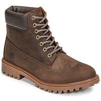 Schuhe Herren Boots Lumberjack RIVER Braun,