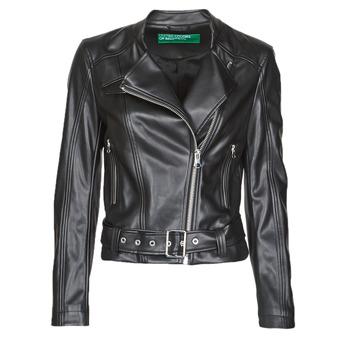 Vêtements Femme Vestes en cuir / synthétiques Benetton 2ALB53673