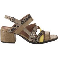 Chaussures Femme Sandales et Nu-pieds Miglio Nu pieds femme -  - Kaki - 36 KAKI