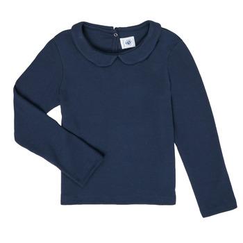Vêtements Fille T-shirts manches longues Petit Bateau LOVING