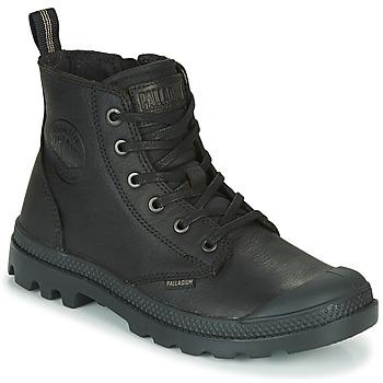 Chaussures Boots Palladium PAMPA ZIP LTH ESS Noir