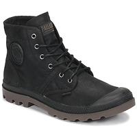 Chaussures Boots Palladium PALLABROUSE WAX Noir