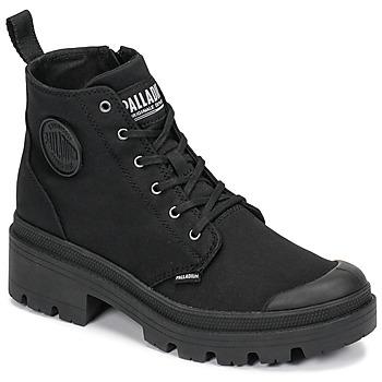 Schuhe Damen Boots Palladium PALLABASE TWILL