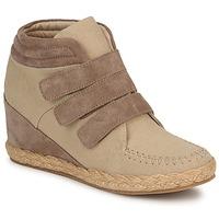 Scarpe Donna Sneakers alte No Name SPLEEN STRAPS Beige / Taupe