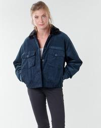 Kleidung Damen Jacken Volcom ARMY CORD JACKET Blau