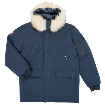 Kleidung Jungen Parkas Redskins VENISE Marineblau