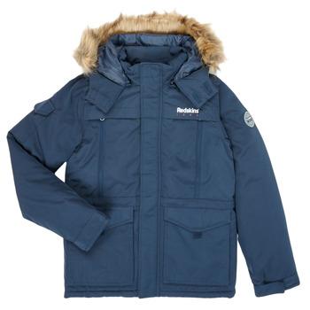 Kleidung Jungen Parkas Redskins JKT Marineblau