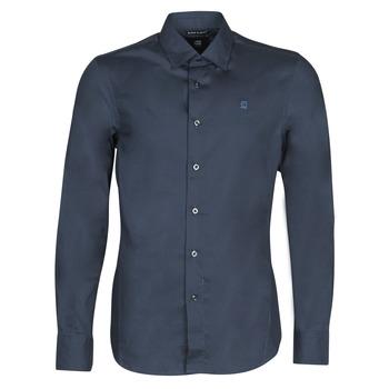 Vêtements Homme Chemises manches longues G-Star Raw DRESSED SUPER SLIM SHIRT LS
