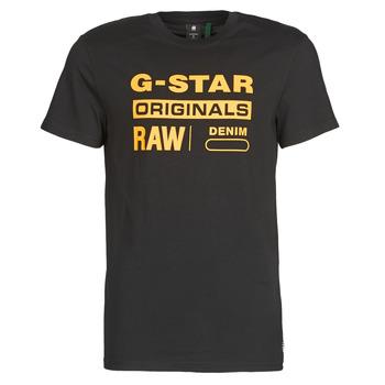 Abbigliamento Uomo T-shirt maniche corte G-Star Raw COMPACT JERSEY O
