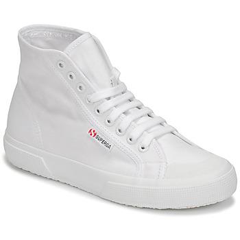 Schuhe Damen Sneaker High Superga 2295 COTW Weiß
