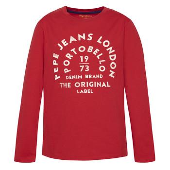 Abbigliamento Bambino T-shirts a maniche lunghe Pepe jeans ANTONI