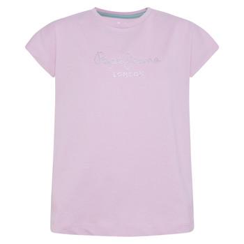 Abbigliamento Bambina T-shirt maniche corte Pepe jeans NURIA