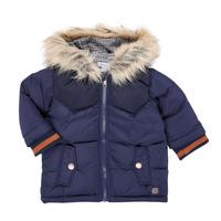 Kleidung Jungen Parkas Absorba 9R42062-04-B Marineblau