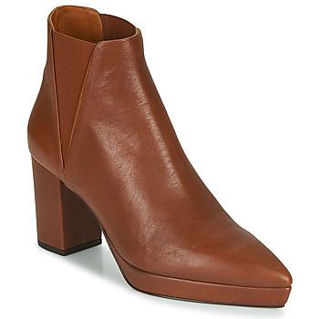 Schuhe Damen Low Boots Castaner OSCA Kognac