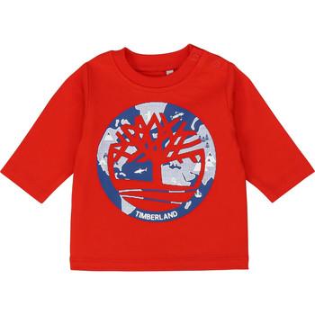 Abbigliamento Bambino T-shirts a maniche lunghe Timberland T95889